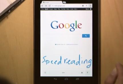 google-handwrite