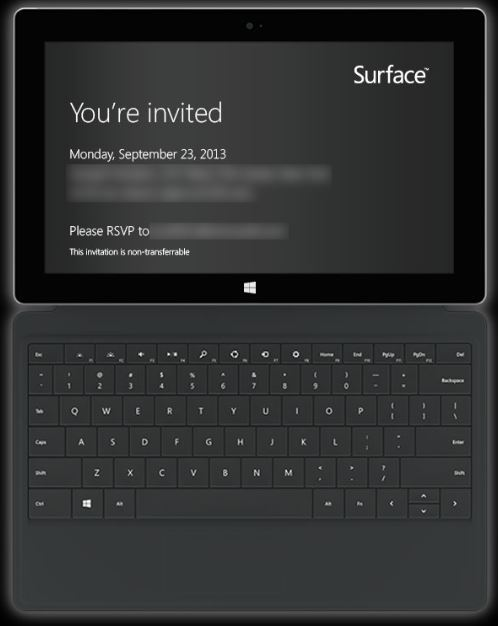 Surface-2-event