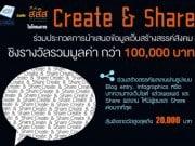 โครงการ Create & Share White Content สร้างเนื้อหาดีๆ โดนๆ ลุ้นรางวัลมูลค่ากว่า 1แสนบาท
