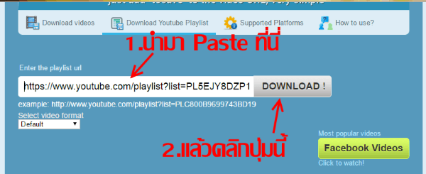 how to download your youtube playlist
