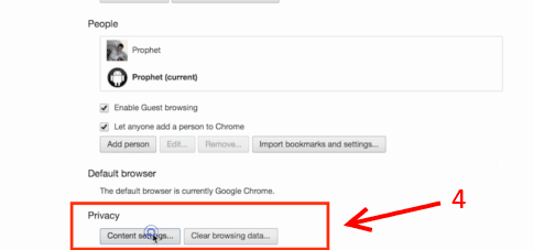 how to change pop up settings on chrome