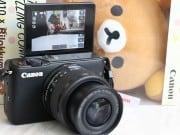 Canon Eos M10 x Rilakkuma แพ็คคู่ความน่ารักกับการถ่ายภาพแบบคุมโทน