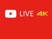 Youtube ประกาศรองรับการถ่ายทอดสดแบบ 4K แล้ว