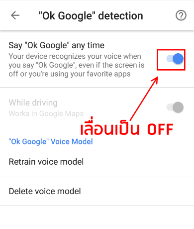 how to change ok google settings