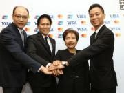 แบงค์ชาติ จับมือ VISA , MasterCard , Union Pay เปิดตัว QR Code มาตรฐาน สำหรับจ่ายเงินในไทย