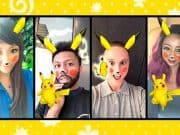 เปลี่ยนหน้าคุณให้มีหู Pikachu ถ่ายกับ Pikachu จริงๆด้วย Snapchat