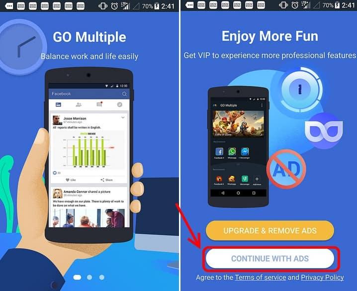 วิธีเปิด LINE 2 บัญชีในมือถือเครื่องเดียว สำหรับ Android