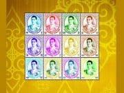 ไปรษณีย์ไทย เผยโฉมแสตมป์รัชกาลที่ 10 ชุดแรก