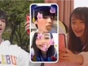 Face Play เล่นเกมด้วยใบหน้า บน Video Call ของแอปฯไลน์ด้วย AR