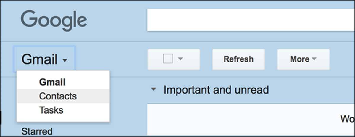 Contact รายชื่อติดต่อหายไปไหน บน Gmail โฉมใหม่ - iT24Hrs by
