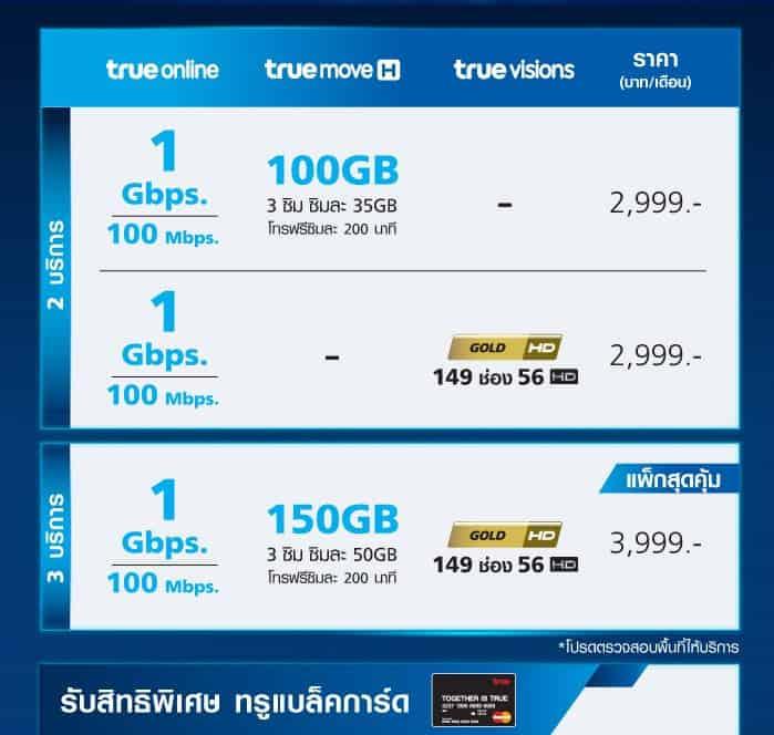 ไฟเบอร์ 1 GB