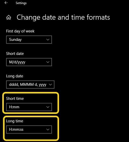 การตั้งค่าเวลา Windows10