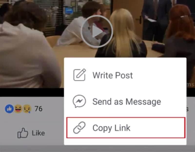 ดาวน์โหลดวีดีโอ Facebook