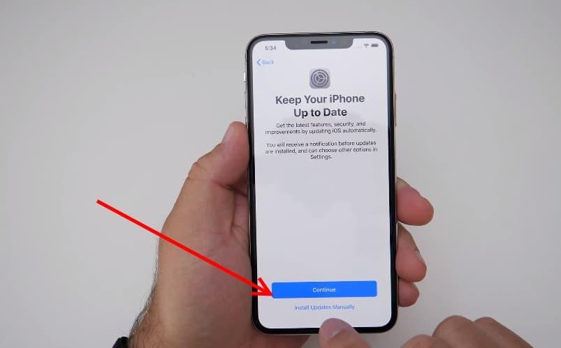 ย้ายข้อมูล iPhone จากเครื่องเก่าไปเครื่องใหม่