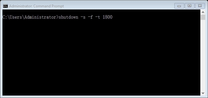 วิธีตั้งเวลาปิดคอม Windows10