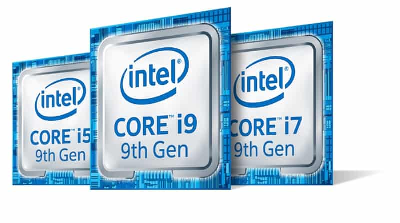 Intel Core 9th Gen