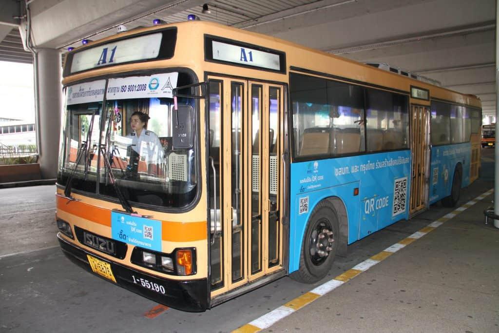 ชำระค่ารถเมล์ผ่าน QR CODE