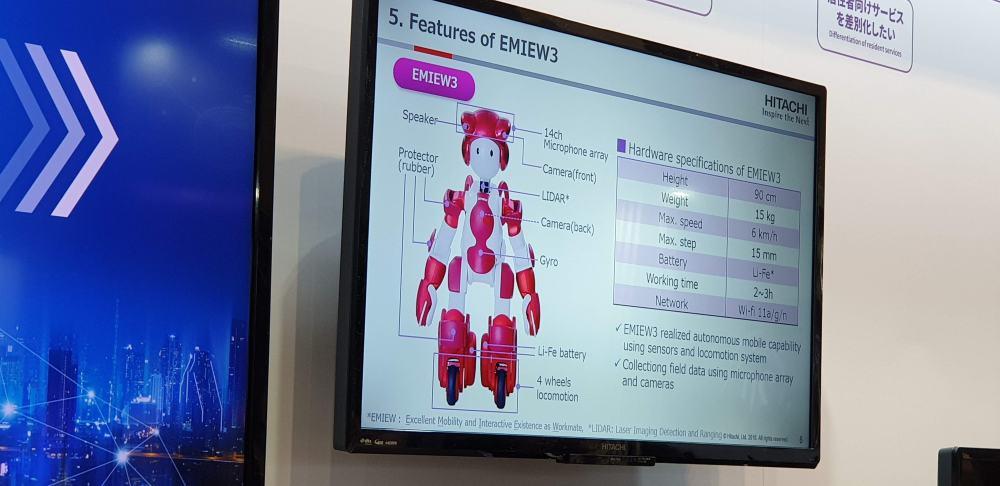 EMIEW หุ่นยนต์อัจฉริยะ
