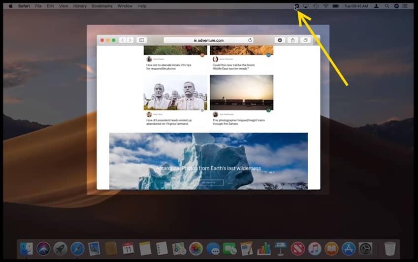 Screen Recording บน macOS