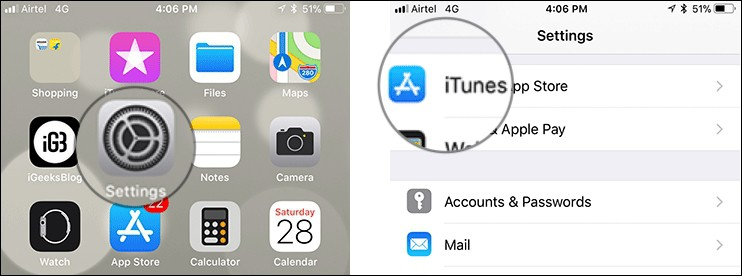 ยกเลิกแอปเสียเงินรายเดือนบน iOS