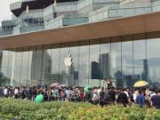 Apple ICONSIAM เปิดร้านแล้ว ต่อคิวยาวคึกคัก ต้อนรับอบอุ่น
