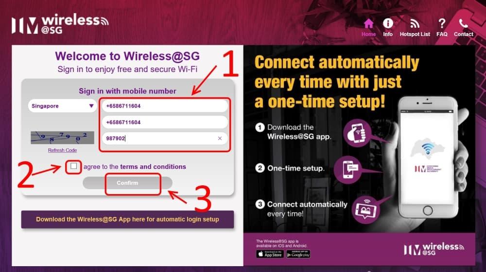 วิธีใช้ Wireless@SG