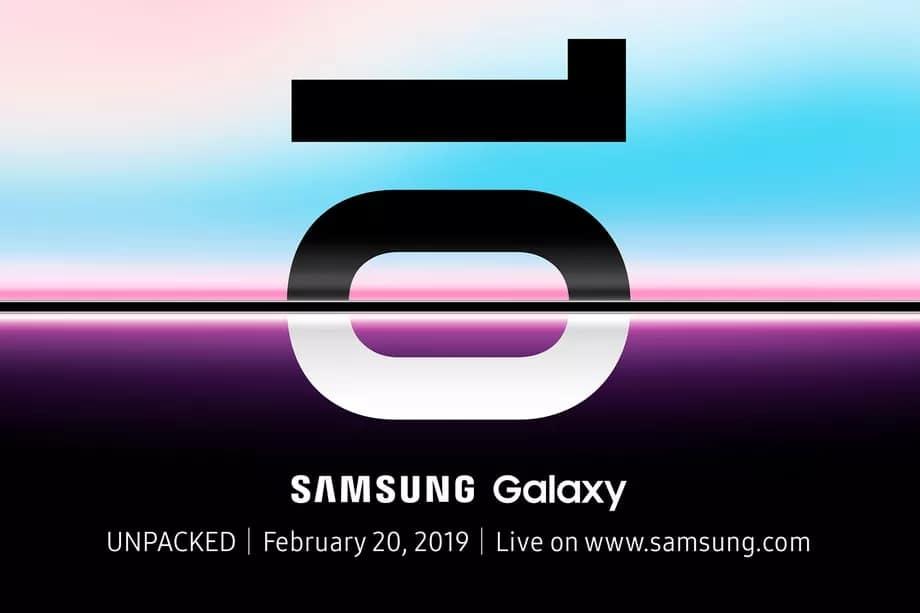 เปิดตัว Galaxy S10