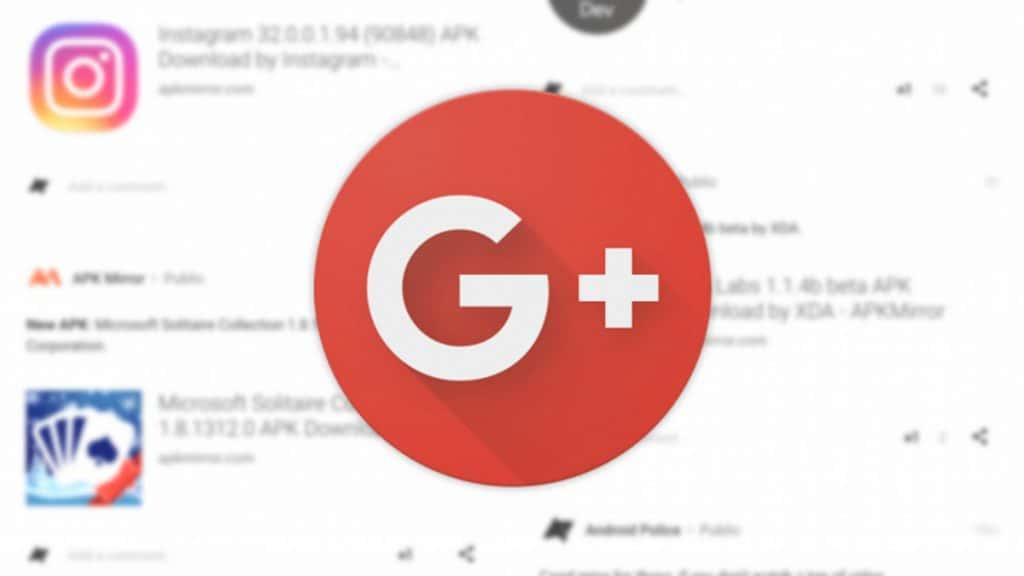 Google+ ปิดถาวร