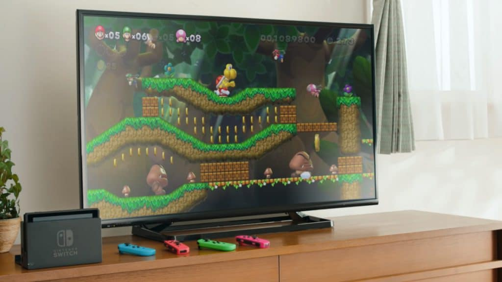 เกม Super Mario Bros.U Deluxe