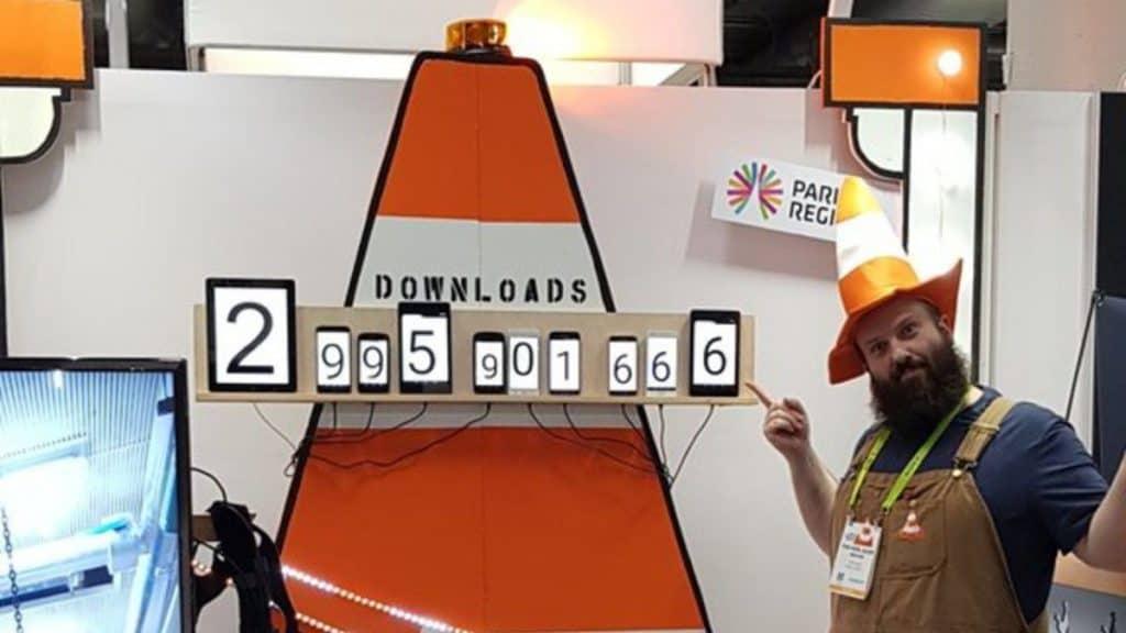 VLC ยอดดาวน์โหลด 3 พันล้านครั้ง