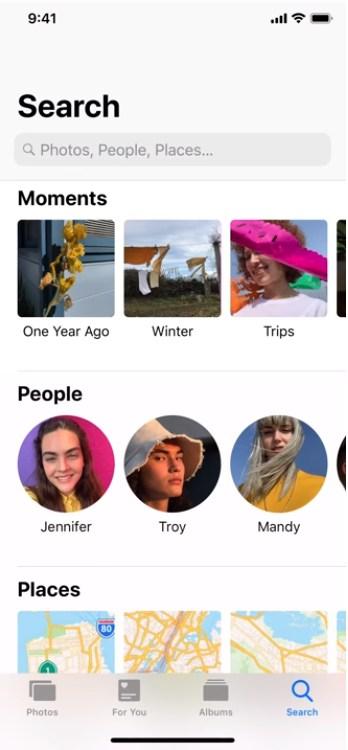 ค้นหาภาพ ใน iphone