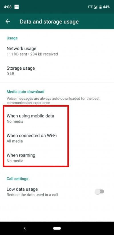 WhatsApp โหลดภาพอัตโนมัติ