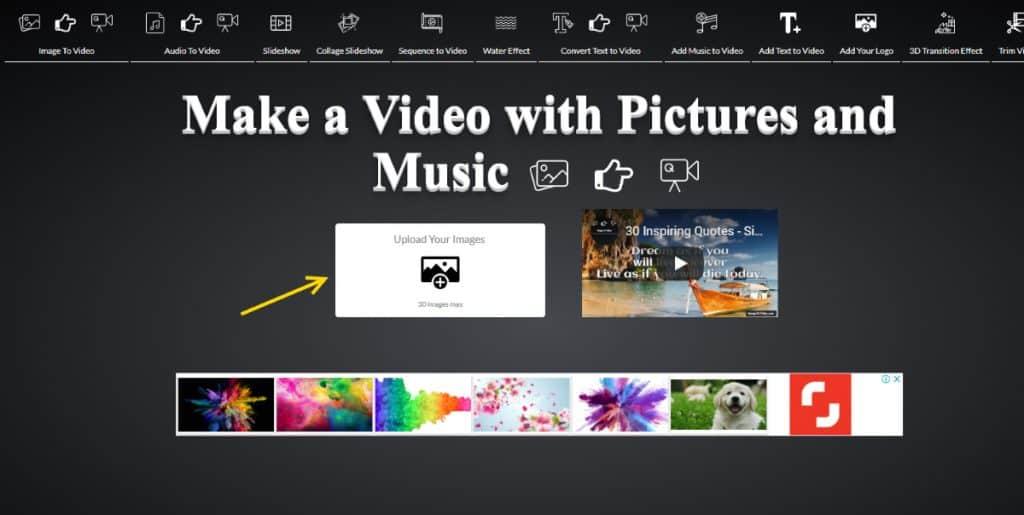 สร้างรูปภาพเป็นวีดีโอ