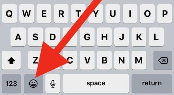 วิธีลบปุ่ม Emoji บนคีย์บอร์ด