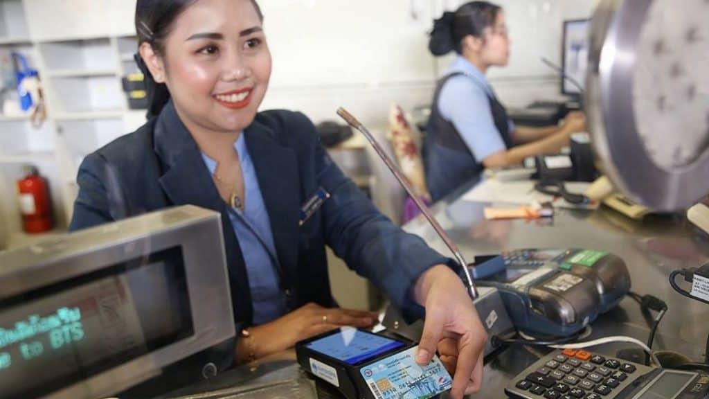 บัตรสวัสดิการแห่งรัฐ ซื้อบัตรโดยสาร BTS