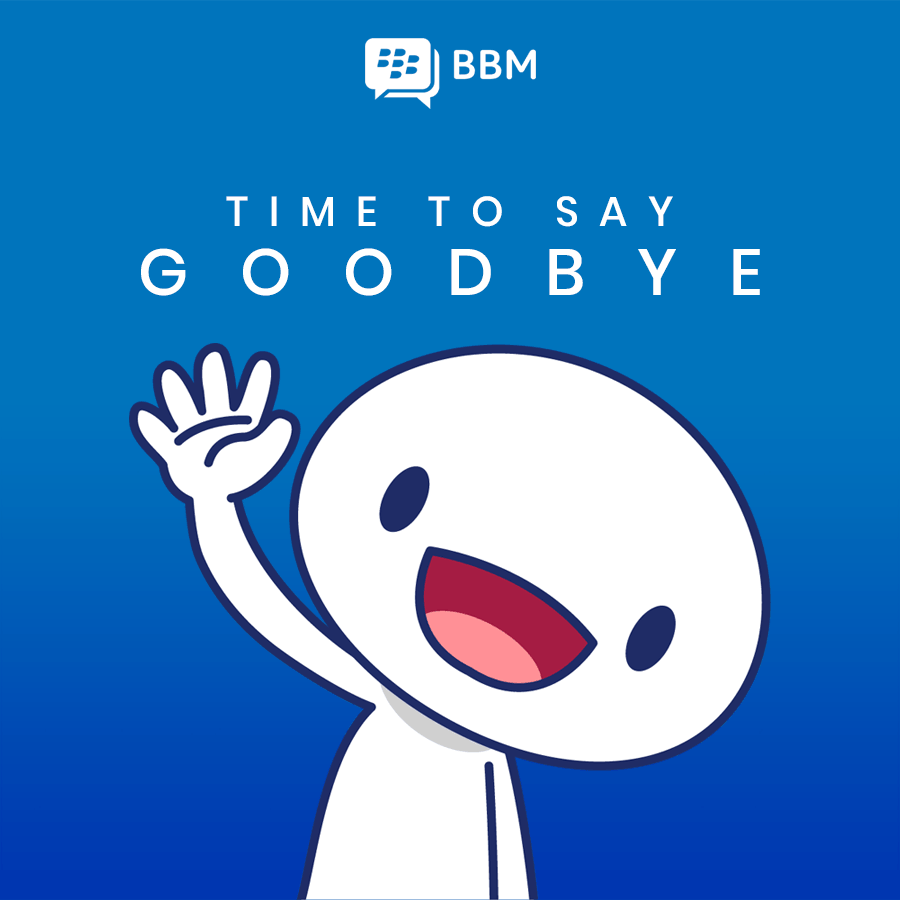BBM ปิดตัวถาวร