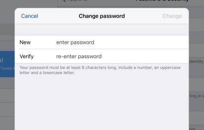 ลืมรหัสผ่าน Apple ID