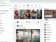 เว็บไซต์ facebook โฉมใหม่ 2019