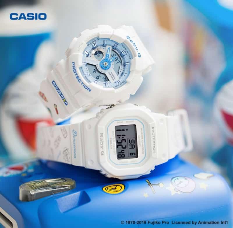 นาฬิกา Baby-G ลายพิเศษ Doraemon