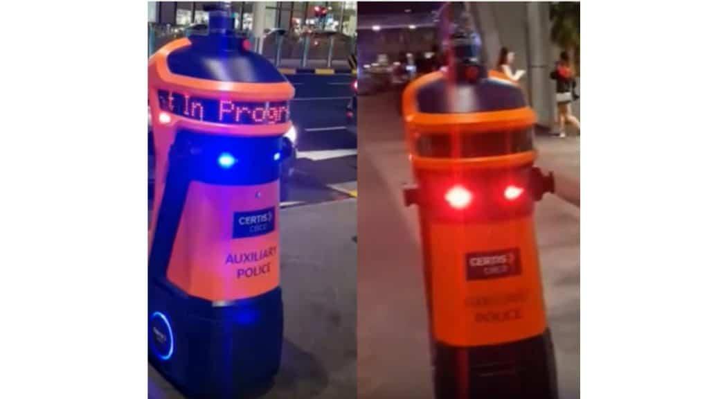 หุ่นยนต์บังคับจราจร