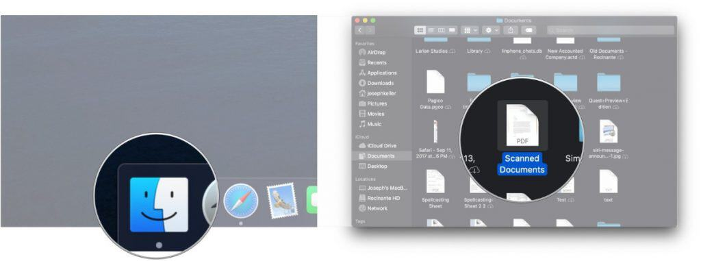 วิธีเซ็นเอกสารบนเครื่อง Mac