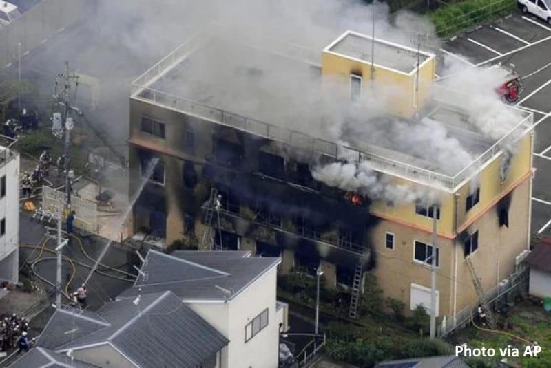 เกิดเหตุ เพลิงไหม้ Kyoto Animation