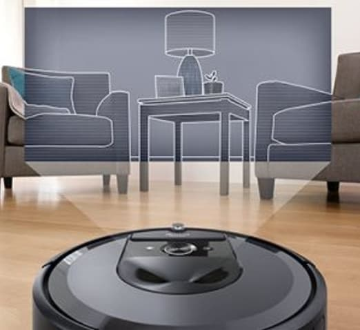 รีวิวหุ่นยนต์ดูดฝุ่น iRobot Roomba i7+