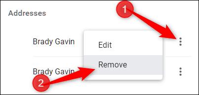 วิธีปิด Autofill บน Chrome
