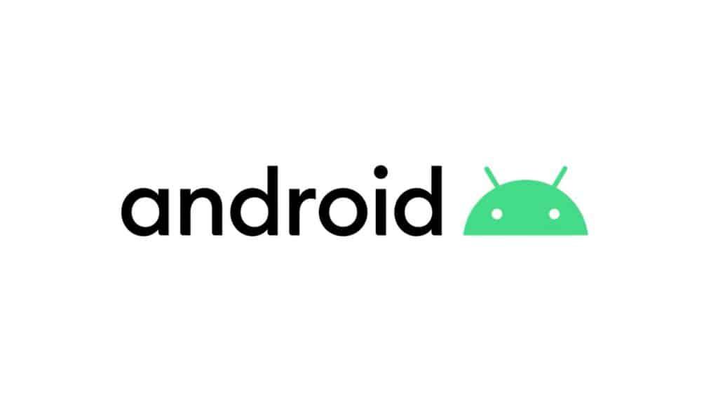 โลโก้ Android 10