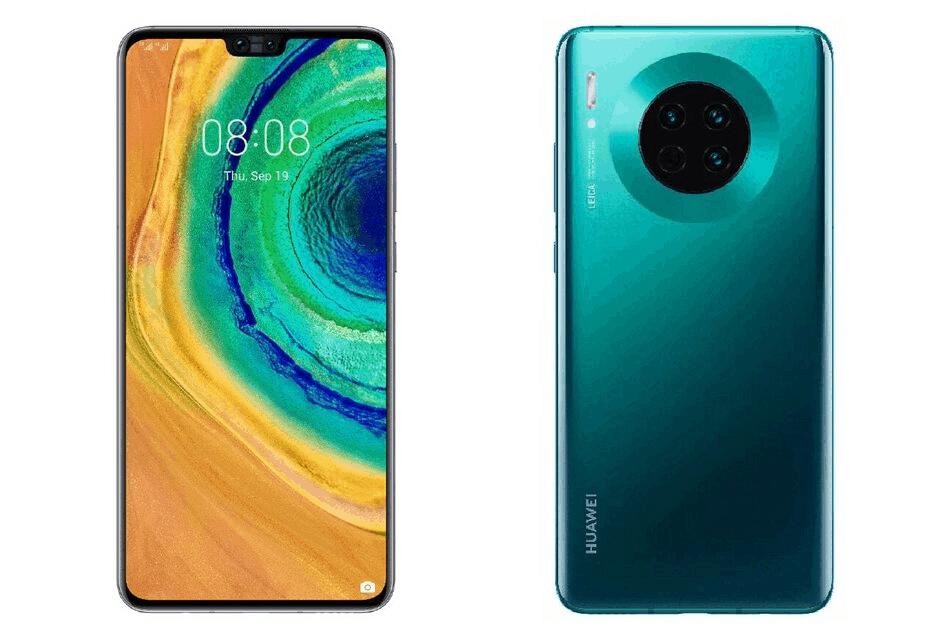 ภาพหลุด Huawei Mate 30