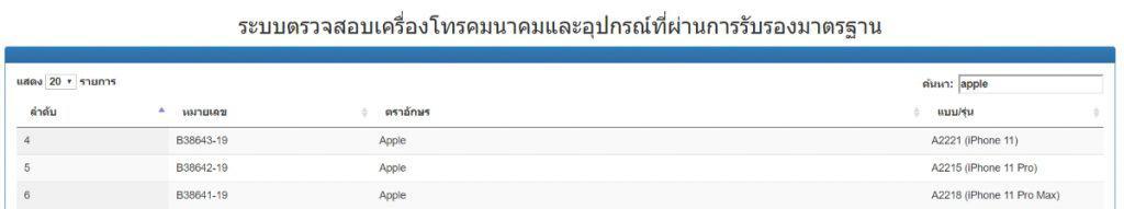 iPhone 11 เข้าไทย