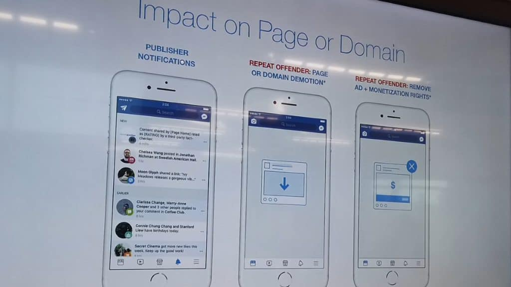 Facebook เปิดตัวโปรแกรมตรวจสอบข่าวปลอม