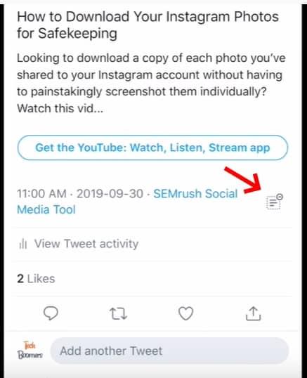 วิธีซ่อนทวีต Reply บน Twitter