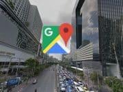 Google Maps นำทาง